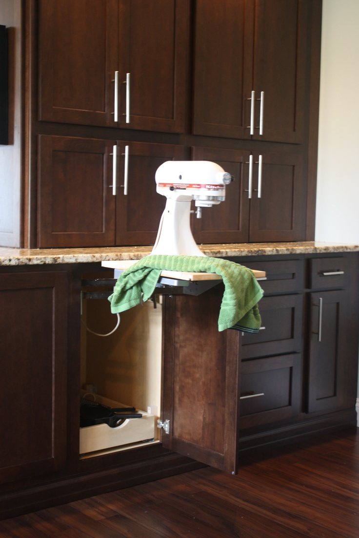 Kitchen Aid Mixer Cabinet For The Home Pinterest