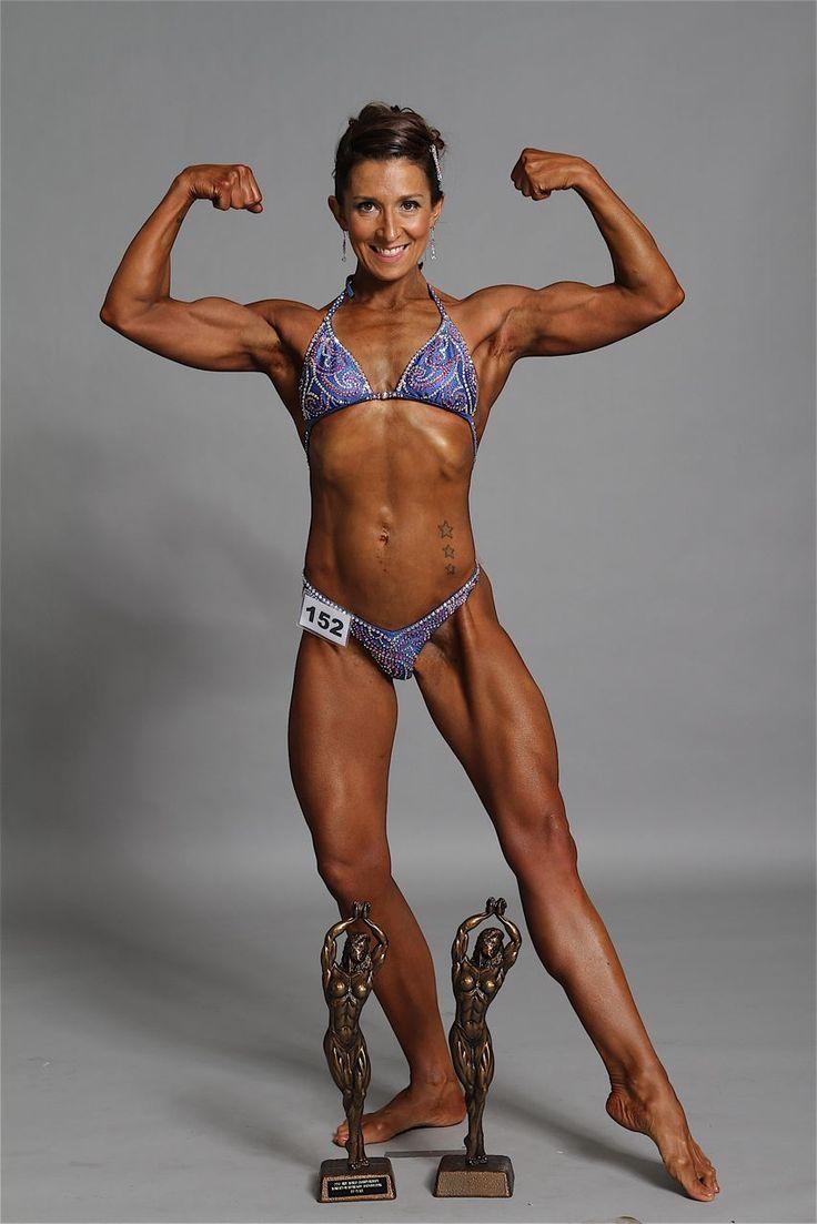 INBF world champion, female bodybuilding | Bodybuilding info ... Fit ... Xoloitzcuintli