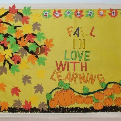 Fall bulletin board ideas google search bb ideas for Fall bulletin board ideas