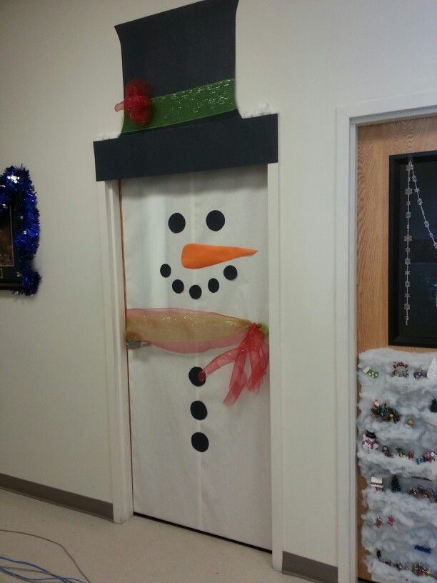 Our office holiday door decoration fun stuff pinterest