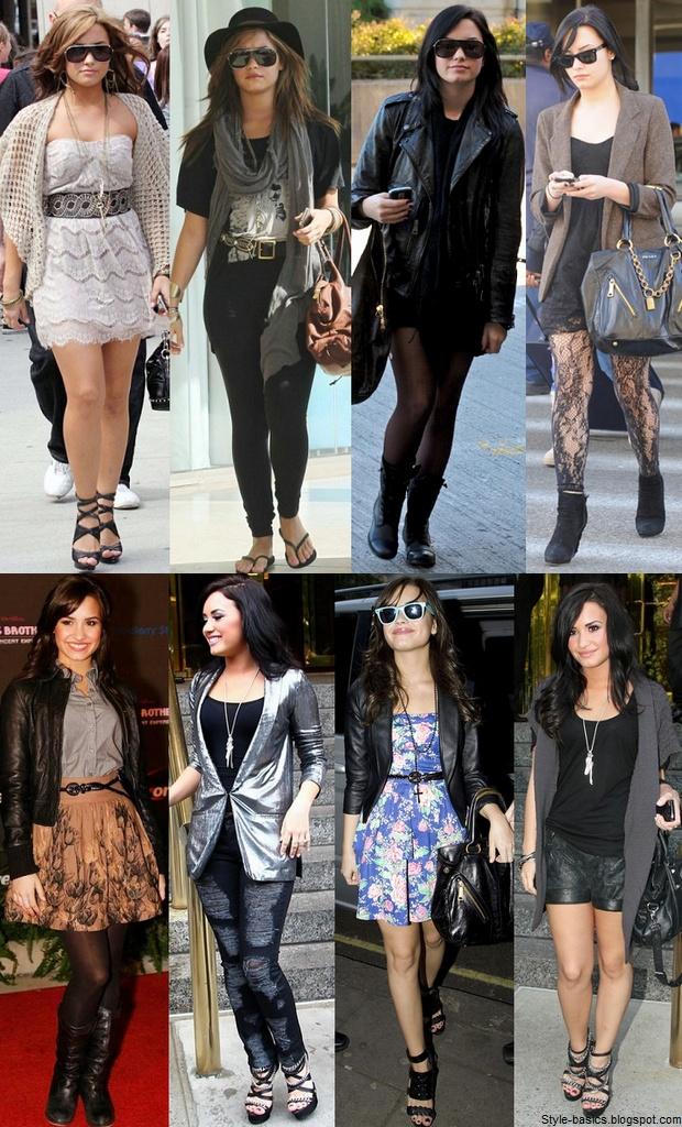Demi Lovato Style Fashion Pinterest