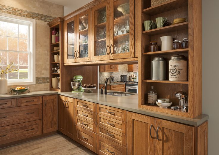 american woodmark reading oak kitchen designs