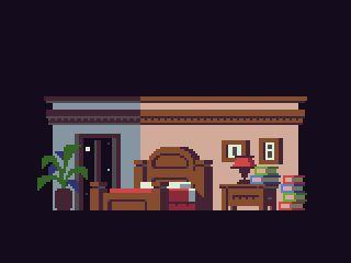 Sidescrolling Bedroom Furniture Pixel Art Pinterest