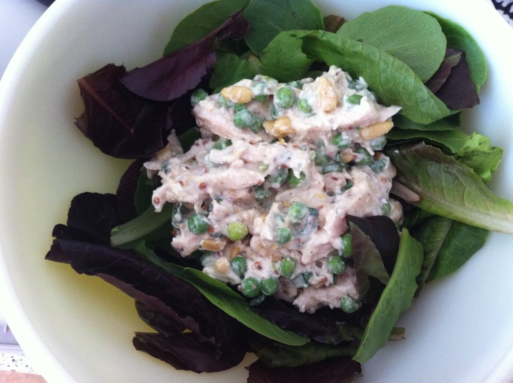 Clean lemon basil chicken salad. | Clean Eats | Pinterest