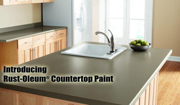 Rustoleum Countertop Paint How To Video : Rust-Oleum Countertop Paint Kitchen Pinterest