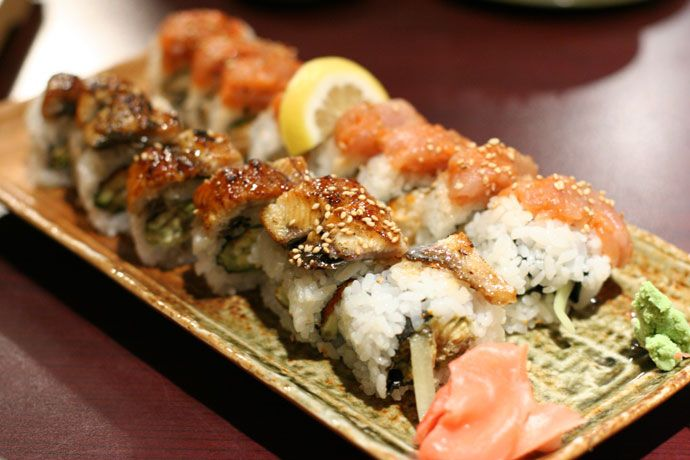 Dragon Sushi Roll | I