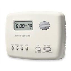 how to set white rodgers thermostat