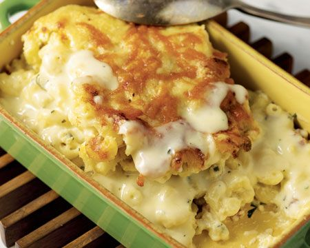 Bobby Flay Carbonara Mac and Cheese | Food - Mac & Cheese | Pinterest
