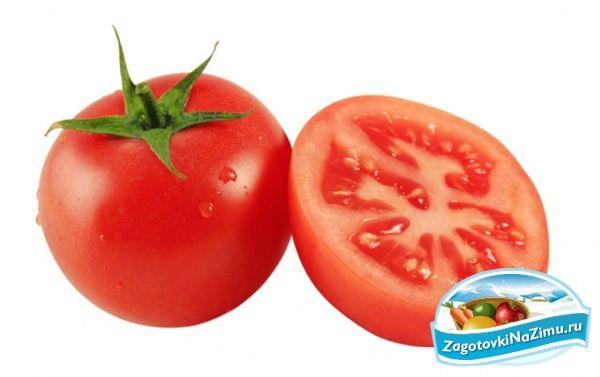 Салаты из помидоров заготовки pinterest