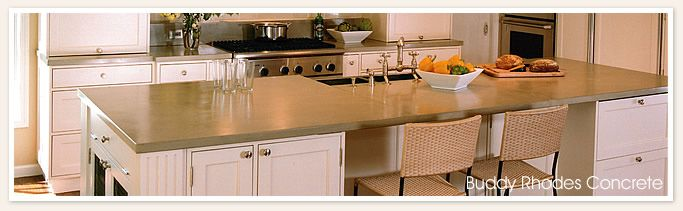 Comparing Countertop Materials For Kitchens : ... concrete countertops compare in pricing to other countertop materials