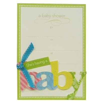 Invitation Cards Baby 10ct.  Baby Shower  Pinterest