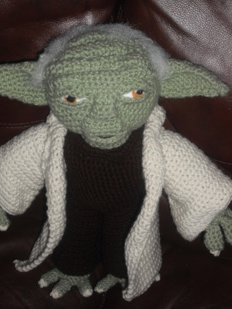 Crochet Patterns Yoda : YODA CROCHET PATTERN Sewing ideas/patterns/etc Pinterest