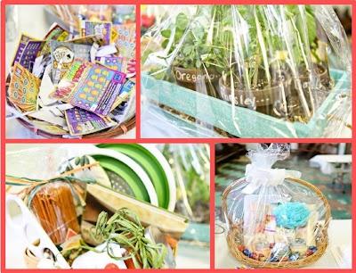 Wedding Shower Prize Gift Basket Ideas : bridal showers