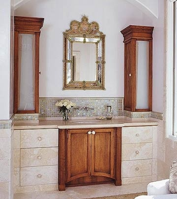 Cabinets home design centre for Bathroom ideas with oak cabinets