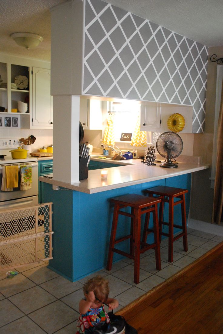 Best Teal And Mustard Kitchen For The Home Pinterest 400 x 300