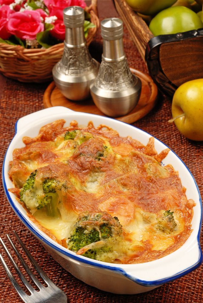 Broccoli and Cauliflower Gratin | Favorite Recipes | Pinterest