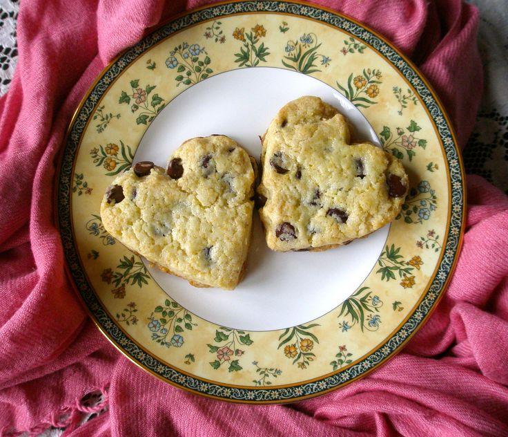 Gluten free chocolate chip scones | Food | Pinterest
