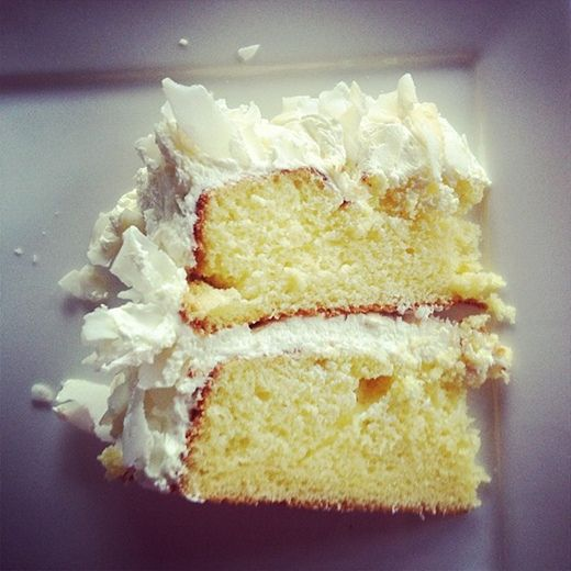 Coconut Cloud Cake // Bakeaholic.ca | My Compliments To The Chef | Pi ...