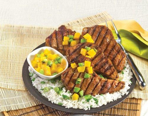 CBs-Five-Spice-Pork-Chops-TWC | FOOD | Pinterest