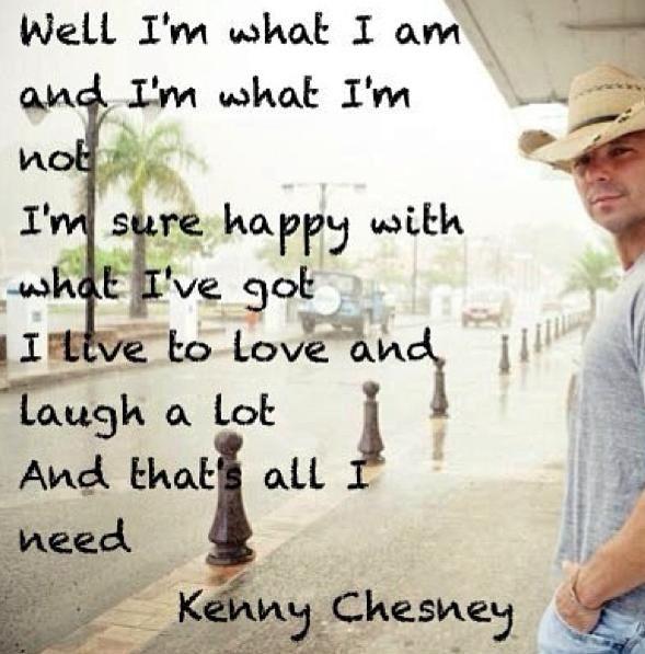 Kenny Chesney Quotes Pinterest