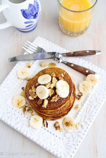 Whole Wheat Oat Gingerbread Pumpkin Pancake Recipe by CookinCanuck ...