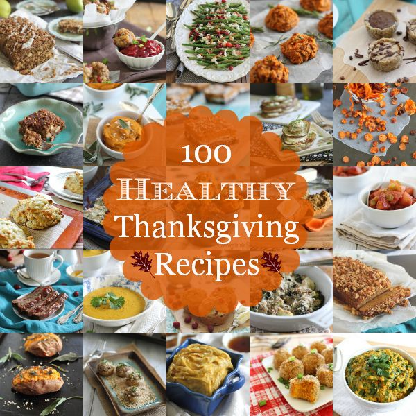 100 Healthy Thanksgiving Recipes | runningtothekitchen.com by Runningtothekitchen