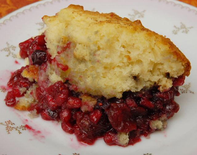 Cranberry and Pomegranate Cobbler | Pies and Tarts | Pinterest