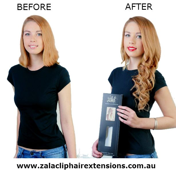 How to wear clip in hair extensions in a ponytail
