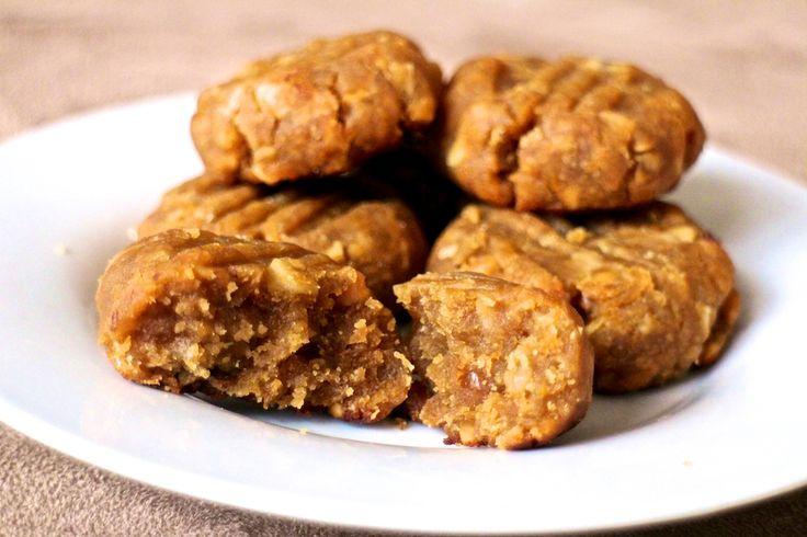 PEANUT BUTTER FUDGE COOKIES | Healthy eating | Pinterest