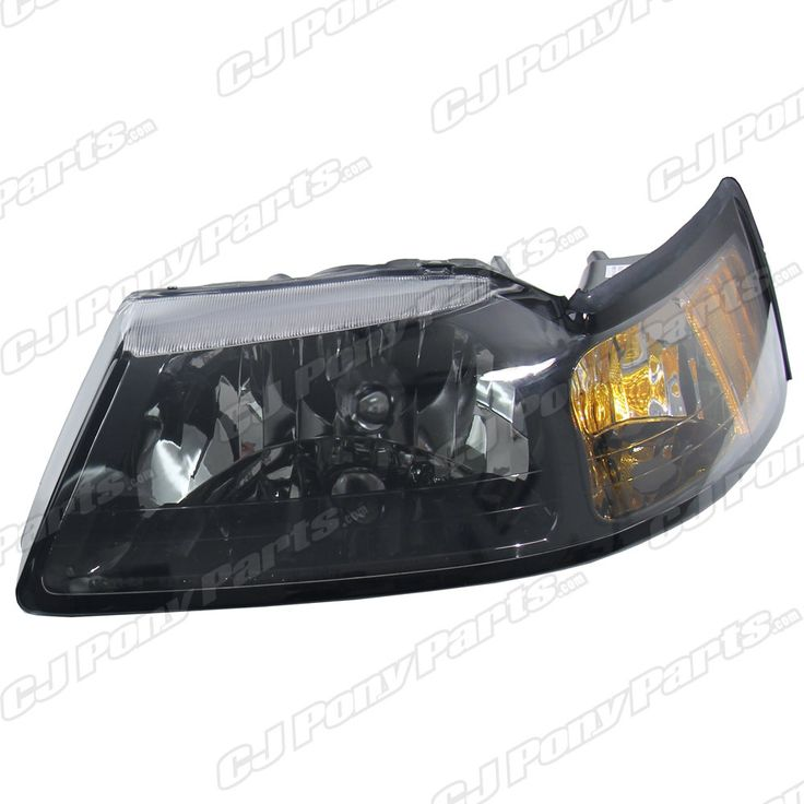 ... headlights with this direct replacement - Mustang Smoked Headlight