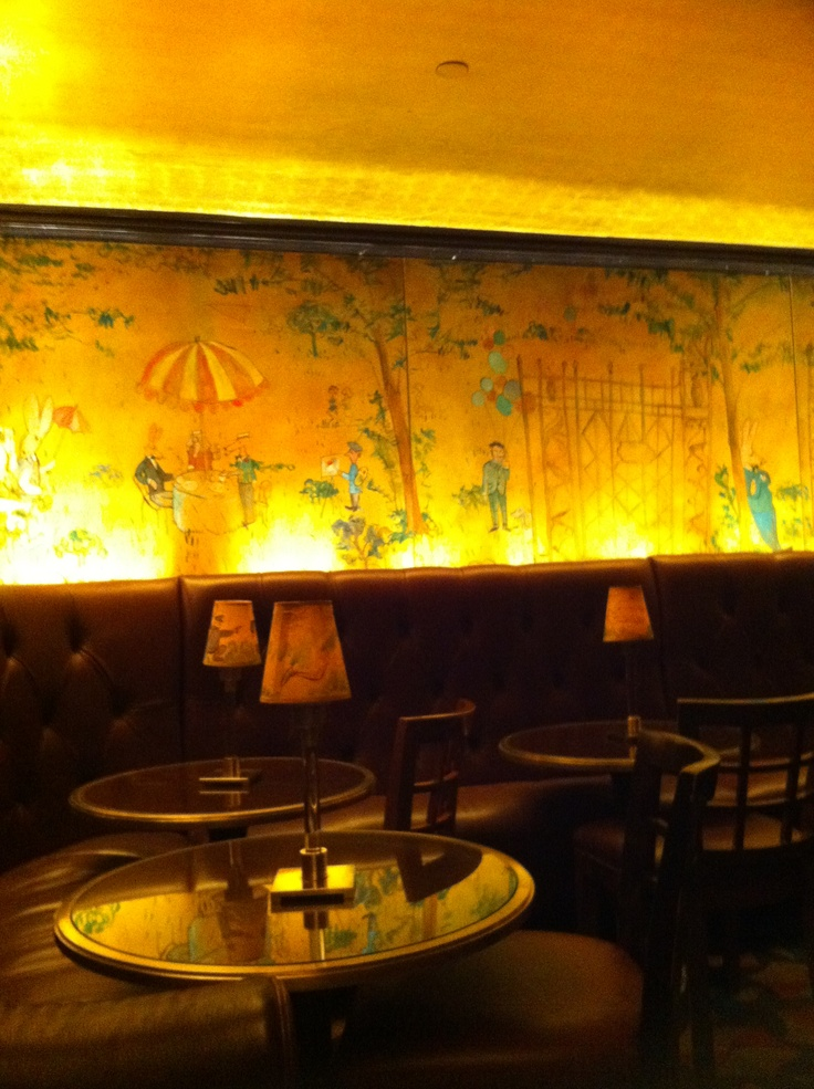 Bemelmans bar the carlyle bemelmans bar pinterest for Bemelmans bar mural