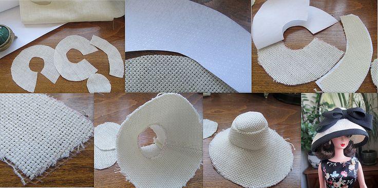 Как сшить барби шляпку 74