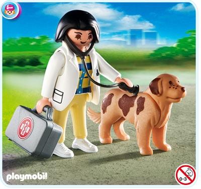 Κτηνίατρος και σκύλος από την Playmobil...