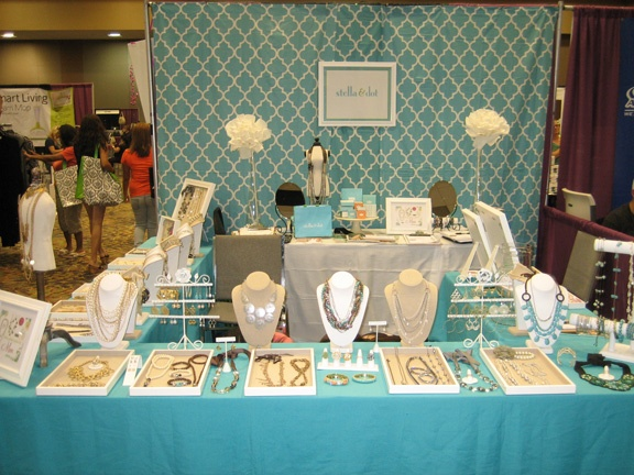 Stella Dot Tradeshow Booth - AZ Women's Expo 2011