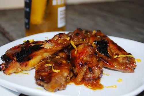 Orange Glazed Chicken Wings | Chicken & Poultry Recipes | Pinterest