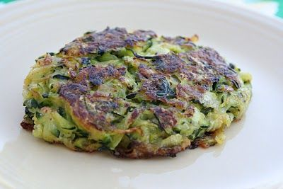 Zucchini Parmesan Pancakes | Good Eats | Pinterest