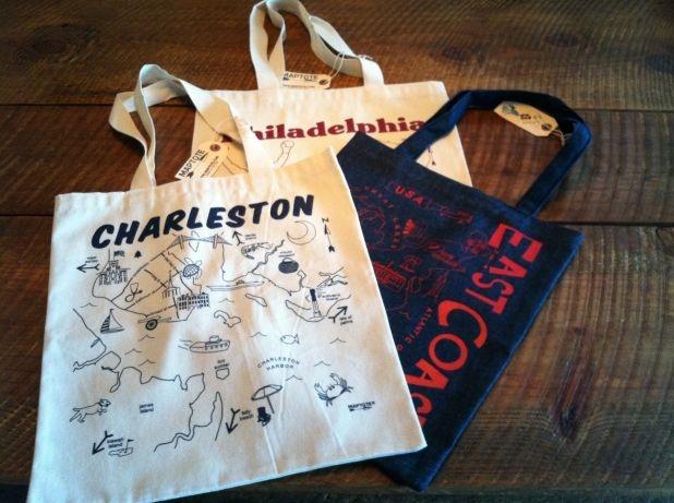 Tote Bags - Favorite Cities