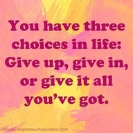 AssistSocialMedia - Google+ Give up- Give in, or give it all youve got!