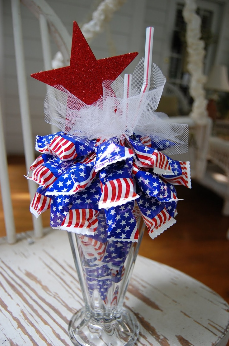 Patriotic favor or decoration patriotic pinterest for 4th of july party decoration