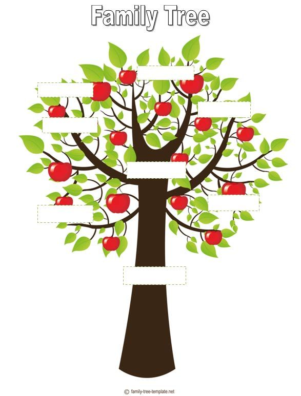 Printable Family Tree #8 | FAMILY TREES | Pinterest