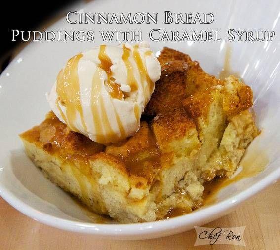 Cinnamon- Caramel Bread Pudding | recipes...bread puddings YUM | Pin ...