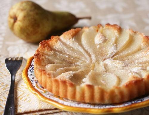 Pear almond tart | Food & Drink Part 3:-) | Pinterest