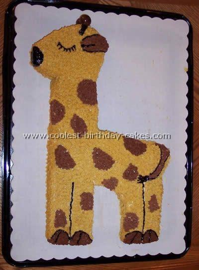 Cake Designs Giraffe : Coolest Giraffe Cakes and Birthday Cake Photo Gallery