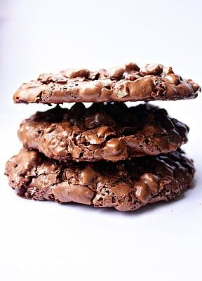 Chocolate Puddle Cookies | Christmas Baking | Pinterest
