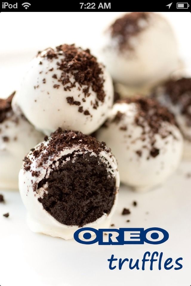Easy Oreo Truffles | sweets | Pinterest