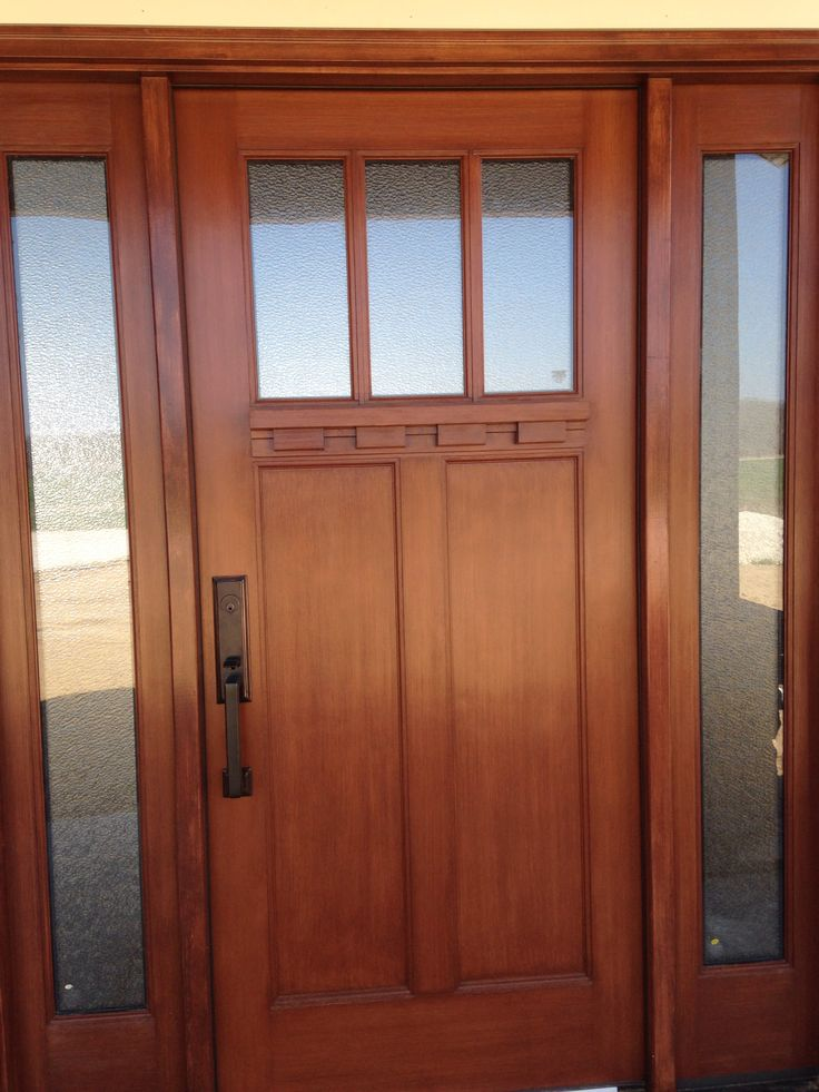 Front door the craftsman style farm house pinterest for Front door styles