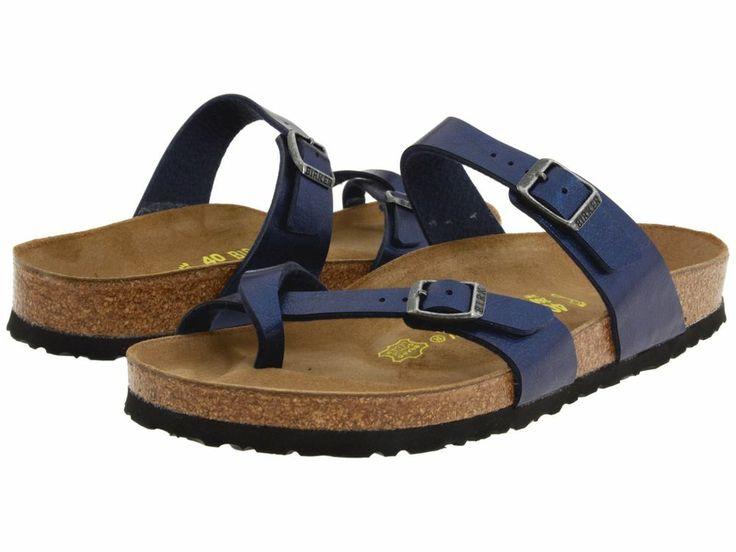 Creative Birkenstock Sandals  Rio Kids Shiny Blue Snake Sandals  Birkenstock