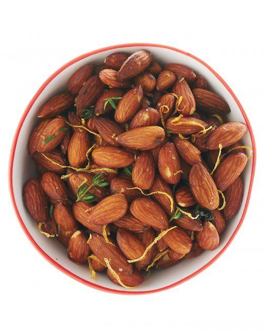 Lemon-Thyme Almonds | Food & Drink | Pinterest