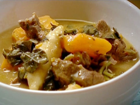 Beef Pepperpot Stew with Spillers' Dumplings from CookingChannelTV.com