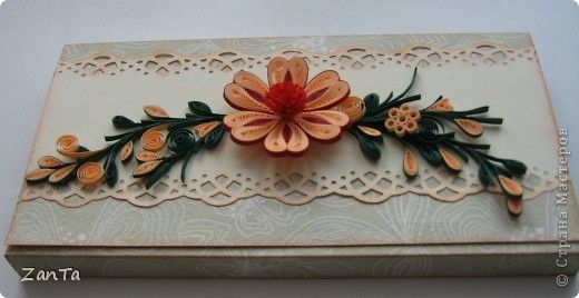 Quilled card | Paper Quilling and Craft | Pinterest